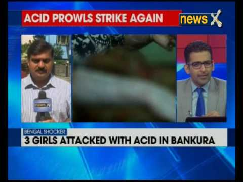 Acid Attack: Three girls attacked with acid in Bankura, West Bengal
