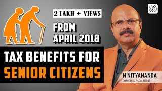 Income Tax Benefits for Senior Citizens - Vaya Vandana Yojana | N Nityananda.