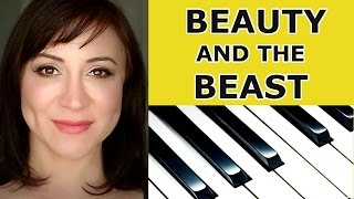 Video Beauty and the Beast Piano Tutorial/Sheet Music - Ariana Grande and John Legend download MP3, 3GP, MP4, WEBM, AVI, FLV Agustus 2018