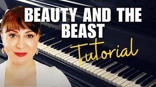 Video Beauty and the Beast Piano Tutorial/Sheet Music - Ariana Grande and John Legend download MP3, 3GP, MP4, WEBM, AVI, FLV Juni 2018