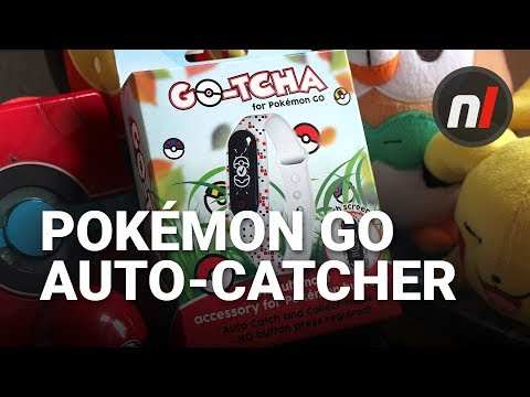 Automatic Pokémon Catching Device for Pokémon GO | Datel Go-tcha Review
