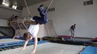 Спортпланерка по прыжкам на батуте