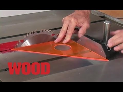 How to Tune Up Your Tablesaw - WOOD magazine
