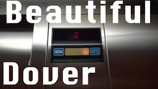 Beautiful Dover Hydraulic elevator @ One South Greeley Chappaqua NY