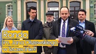 Rondo im. Jana Olszewskiego w Szczecinie? Złożyłem projekt uchwały.