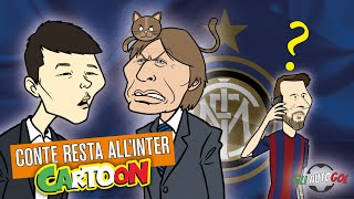 AUTOGOL CARTOON - Conte e il caso Messi