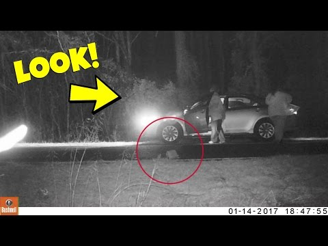 WE CAUGHT THEM ON THE TRAIL CAMERA!