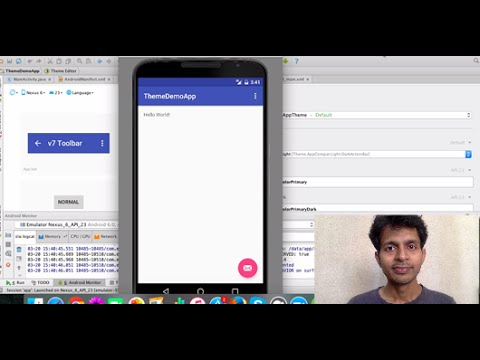 Customize Your App Theme using Android Studio Theme Editor
