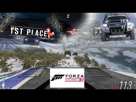 FORZA HORIZON 3 - BLIZZARD MOUNTAIN - TANK!!