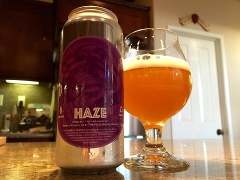 Beer Review #106 - Tree House Brewing Company - Haze - 8.2% ABV