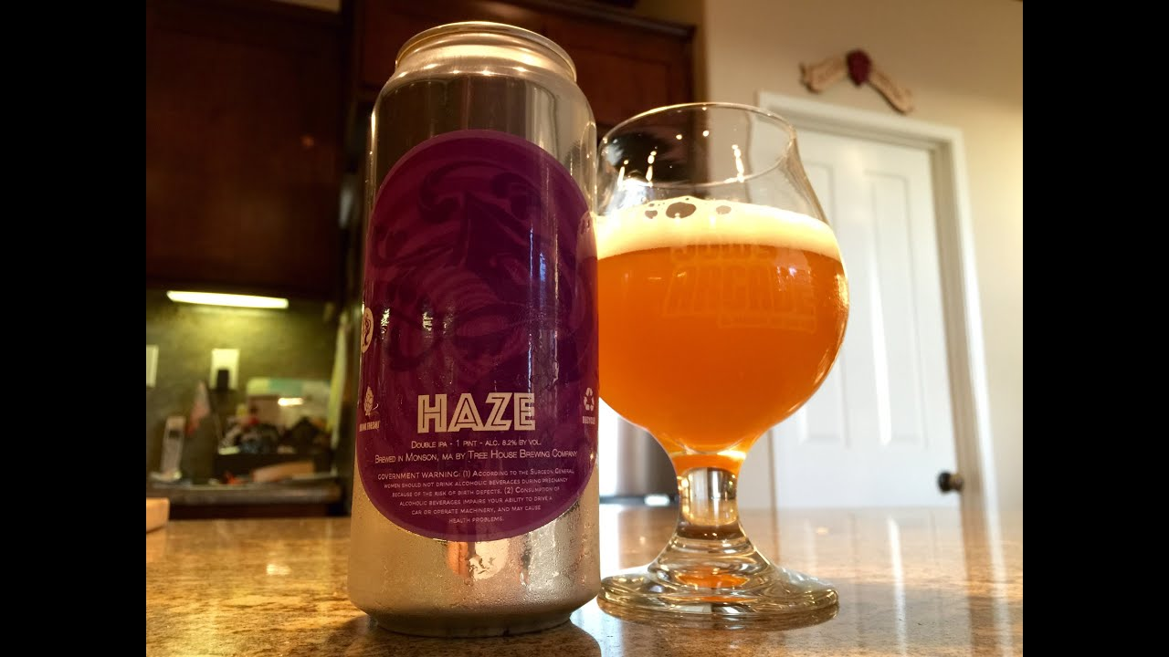 Treehouse Brewing Part - 43: Beer Review #106 - Tree House Brewing Company - Haze - 8.2% ABV - YouTube