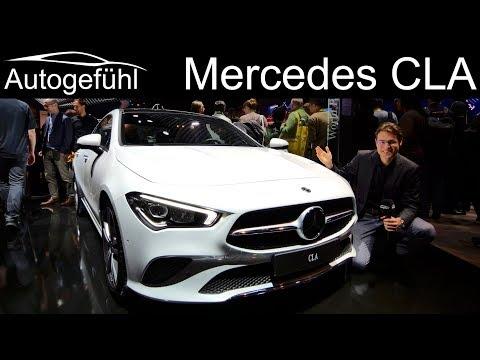 All-new Mercedes CLA REVIEW comparison CLA vs A-Class sedan vs C-Class Exterior Interior 2019 2020