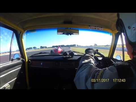 Fiat 125T at The Phillip Island Classic 2017