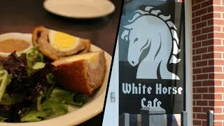Places To Eat in KC Area! White Horse Cafe Review in Parkville Mo Off The Beaten Path British Food