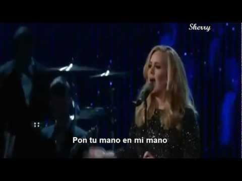 Adele en los oscar-Sub español 2013
