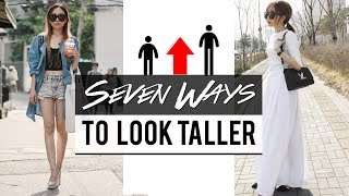 HOW TO LOOK TALLER │I