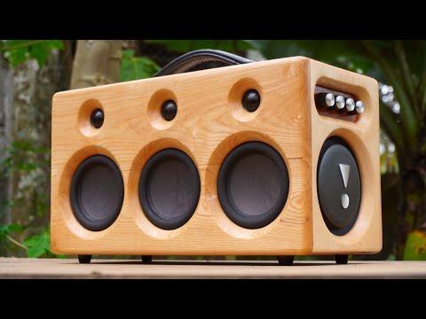Pallet Bluetooth Speaker V3 DIY - King Minhvuong