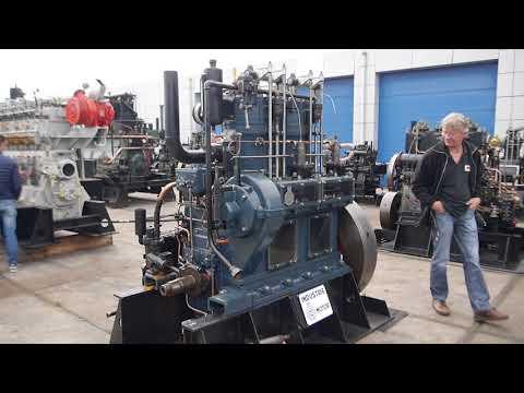 Industrie,2V D5,Dieselmotor,Hollandse karrendag 2018,Stationärmotor,Schiffsmotor,stationary engine