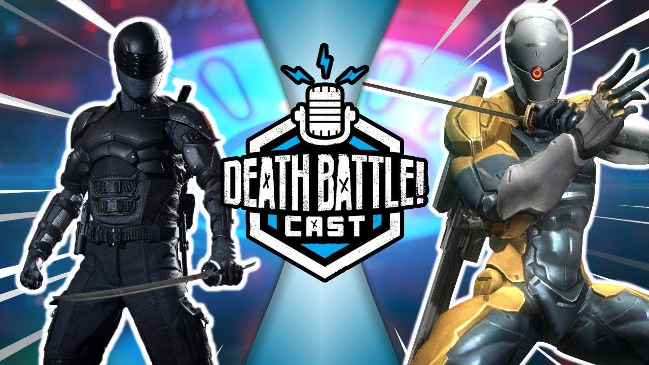 Snake Eyes VS Gray Fox | DEATH BATTLE Cast #237