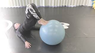 Core Training with Ball
