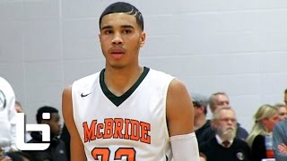 Download Video POY Contender Jayson Tatum Combines Highlight Reel Dunks and Flashy Passing! MP3 3GP MP4