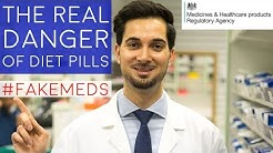 Diet Pills UK Side Effects | Danger Of Slimming Pills |Weight Loss Pills Side Effects #FakeMeds MHRA