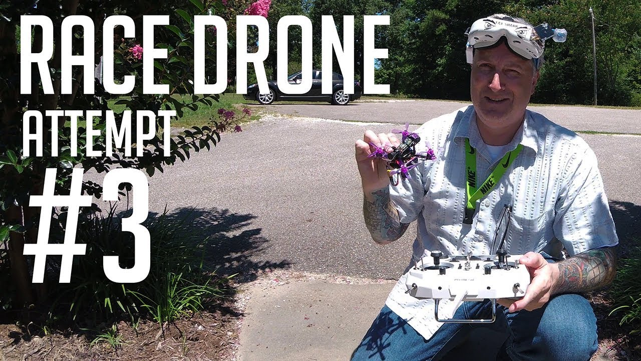 FPV Race drone (Attempt #3) - KEN HERON