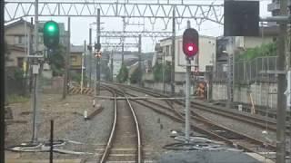 東武アーバンパークライン逆井~六実駅間複線化工事区間前面展望 2019.7