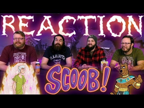 SCOOB! - Official Teaser Trailer REACTION!!