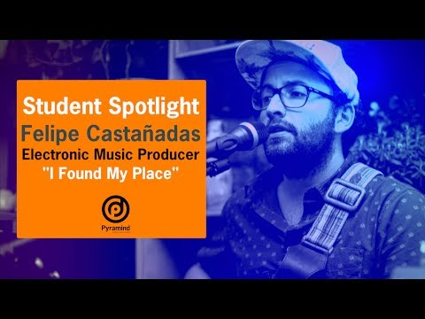 Student Spotlight - Felipe Castañeda   Electronic  Producer Program