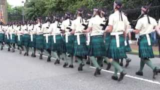 The Royal Scots Borderers, 1st Battalion The Royal Regiment of Scotland. Holyrood rehearsal