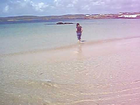 Galway beach in Ireland