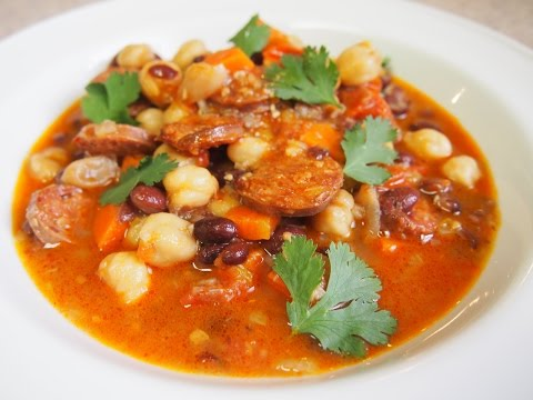 Chorizo And Beans Stew