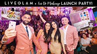 LiveGlam x Les Do Makeup Palette Launch Party | Dhar and Laura