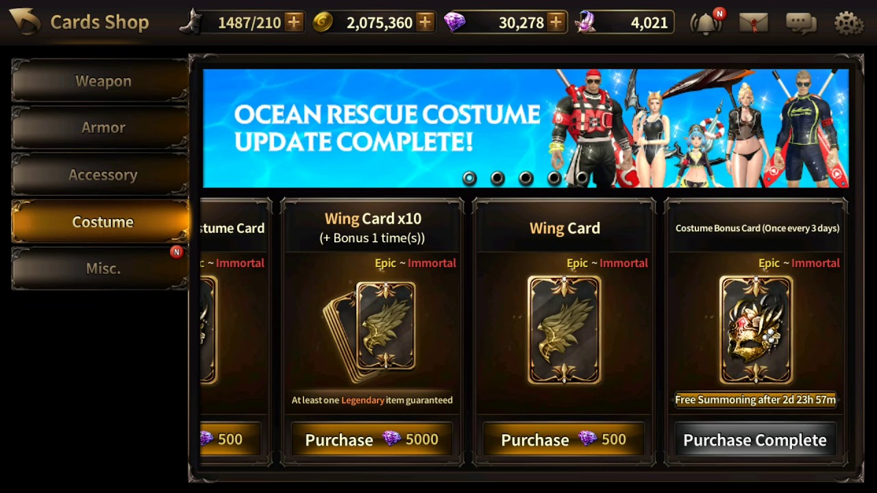 Opening 30 🔥🌊Ocean Rescue🌊🔥costume cards (HIT) 2017