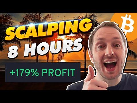 Crypto Scalper Makes +179% in A Day (LIVE TRADES)