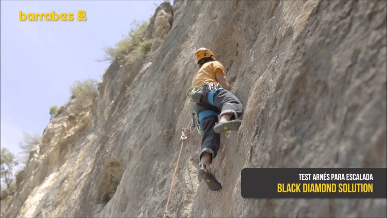 Klettergurt Black Diamond Solution : Test arnés solution de black diamond youtube