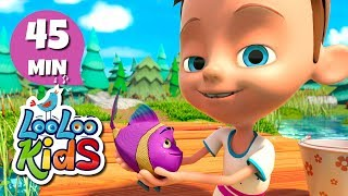 Once I Caught A Fish Alive - THE BEST Nursery Rhymes and Songs for Children | LooLoo Kids mp3