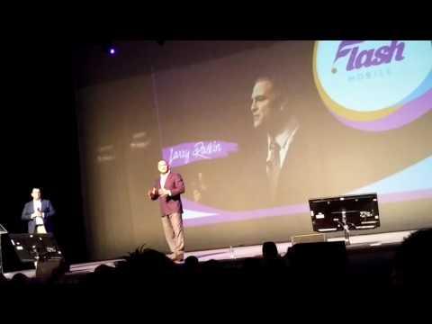 Larry Raskin, evento puebla, flash mobile