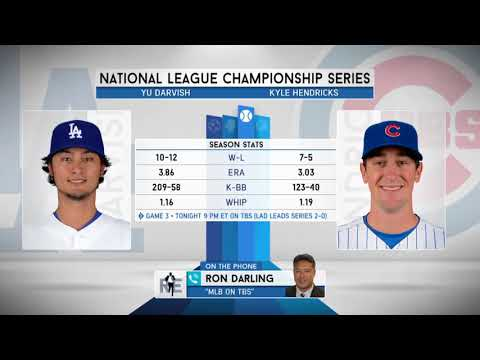 MLB Analyst Ron Darling Previews Game 3 of NLCS | The Rich Eisen Show | 10/17/17