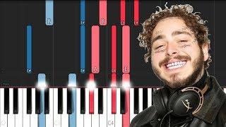 Post Malone - Circles (Piano Tutorial)