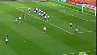 golazo de ronaldinho en el mundial 2002