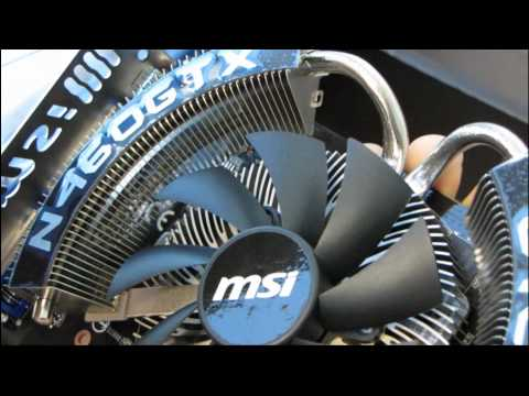 MSI NVIDIA GeForce GTX 460 Cyclone OC 1GB Video Card Unboxing & First Look Linus Tech Tips