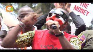 VIDEO: Police teargas demonstrators, journalists in anti-graft demo