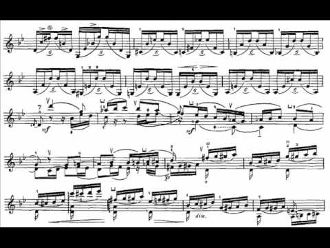 Ysaÿe, Eugène Sonate 1(begin) 6 Sonates op.27