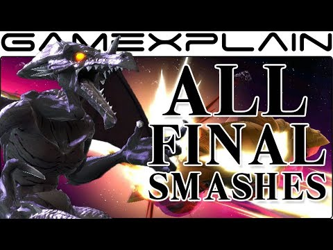 All Final Smashes in Super Smash Bros. Ultimate (+ Dialog Differences!) thumbnail