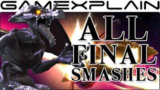 All Final Smashes in Super Smash Bros. Ultimate (+ Dialog Differences!)