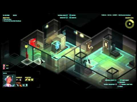 Let's play Invisible INC console EXPERT RUN #(013) cont.