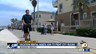 Mission Beach vacation rental hosts forming alliance