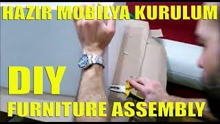 hazir mobilya kurulumu furniture assembly